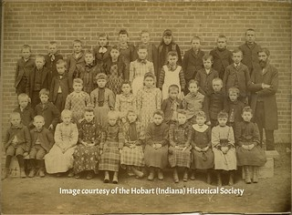 Trinity Lutheran School pupils ca 1890