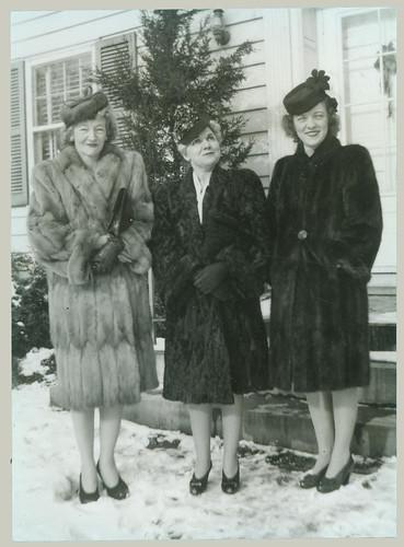 Three Fur Coats