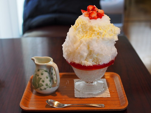Japanese Shaved Ice Dessert