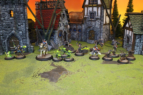 The Guild Miniatures from the Malifaux miniatures war game