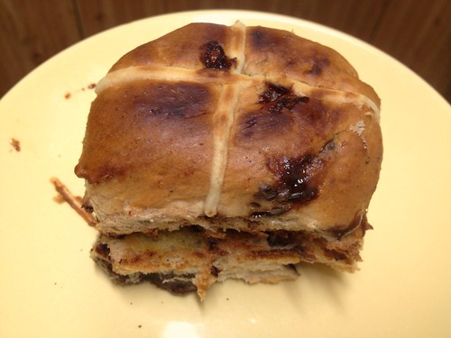 Kyton's Hot Cross Buns with FruChocs