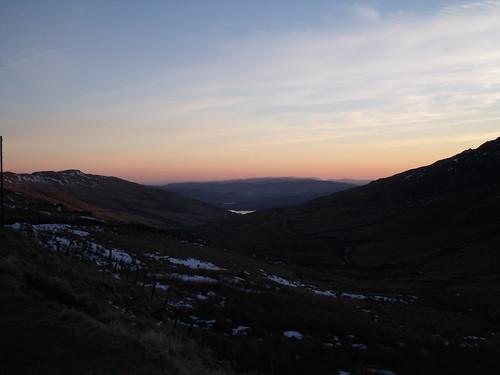 Sunset at the top of Kirkstone Pass