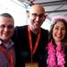 Small photo of Jeff Esposito, Geoff Livingston, Aliza Sherman