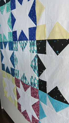 White Star Quilt Top