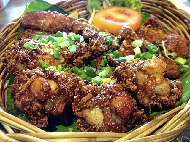 Deep Fried Chicken Wing