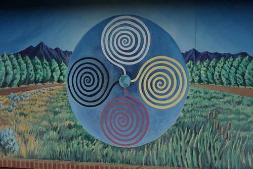 art mural colorado sony sacred ignacio nativeamericanart connectedness colorfulcolorado utereservation 4directions sonydslra200 desbahallison ihda~desbahallison