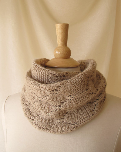 Birchleaf Cowl Doubled