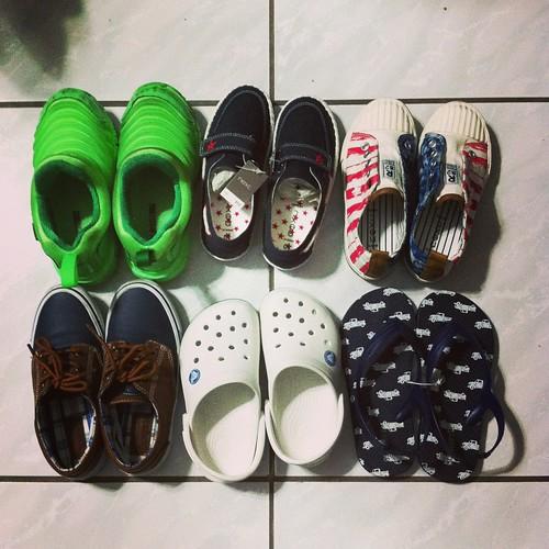 20130316夏日鞋子們