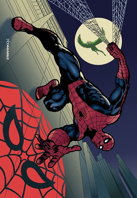 Spider-Man by Steranko