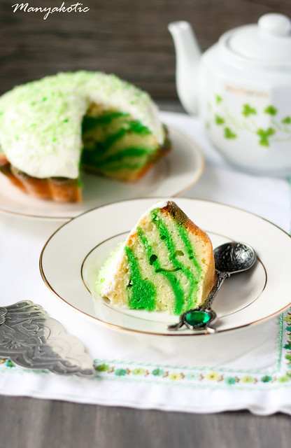 Cake for St. Patrick's day
