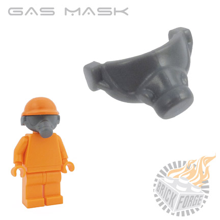 Gas Mask - Dark Blueish Gray