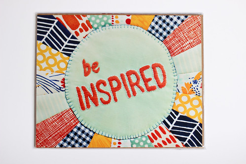 Be Inspired Print by Holly by Jeni Baker