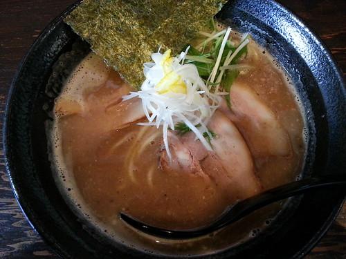 ra130321美羽 濃厚魚介らーめん 麺少なめ