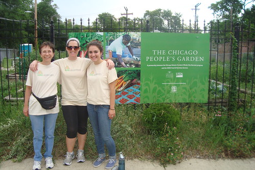 The Midwest Region encouraged interns to participate in the People's Garden as part of its Cultural Transformation efforts.