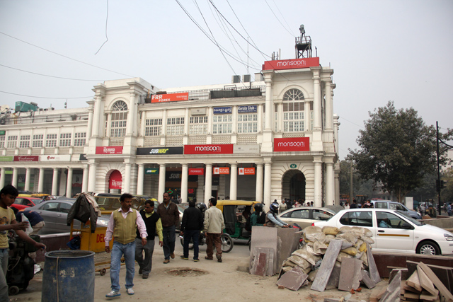 Connaught Place - Rajiv Chowk (& Palika Bazar)