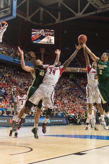 Colorado State University NCAA Basketball  Round 3