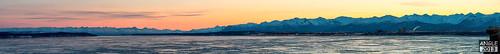 winter alaska sunrise anchorage chugach