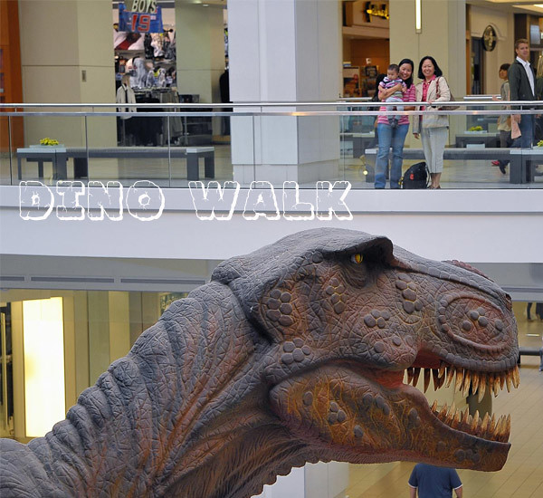 Huge Robotic Dinosaur Model