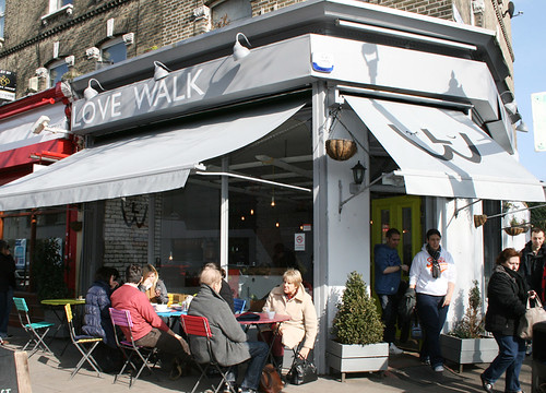 Love Walk Cafe Re-brand.