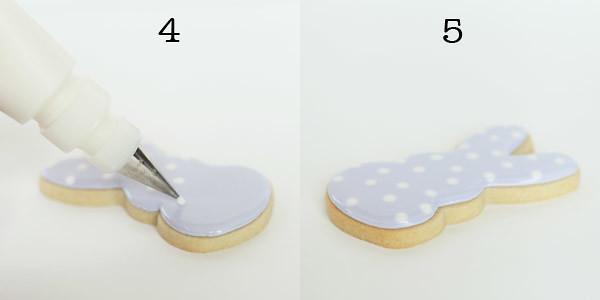 polka dot bunny cookies 6