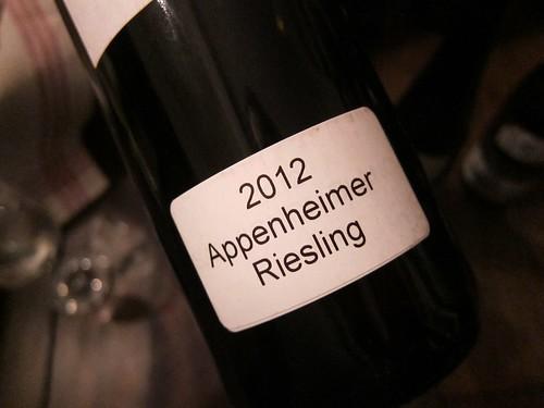 2012 Riesling Weingut Knewitz