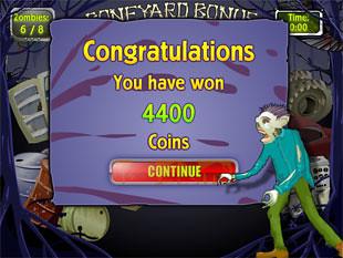 free Zombiezee Money slot bonus game prize