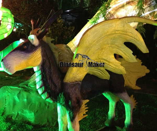Mythic Animatronic Animal Model