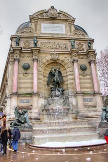 Image of Fontaine Saint-Michel.