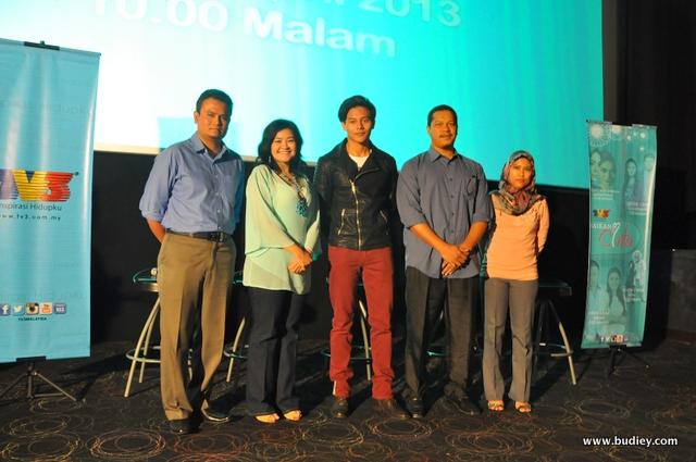 Barisan artis dan produksi drama bersiri Samarinda Epilog Cinta Khirana-001