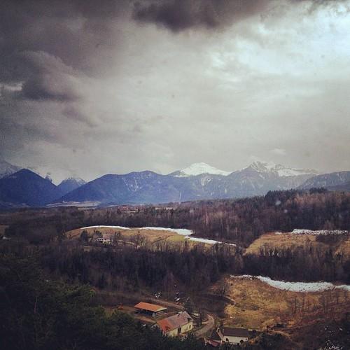 Scenari alpini dal trenino by la casa a pois