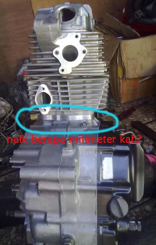 Merubah Mesin GL Pro Jadi Tiger