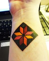Quilt tattoo