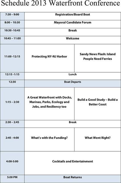 Schedule 2013