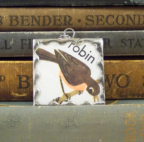 Robin Soldered Pendant