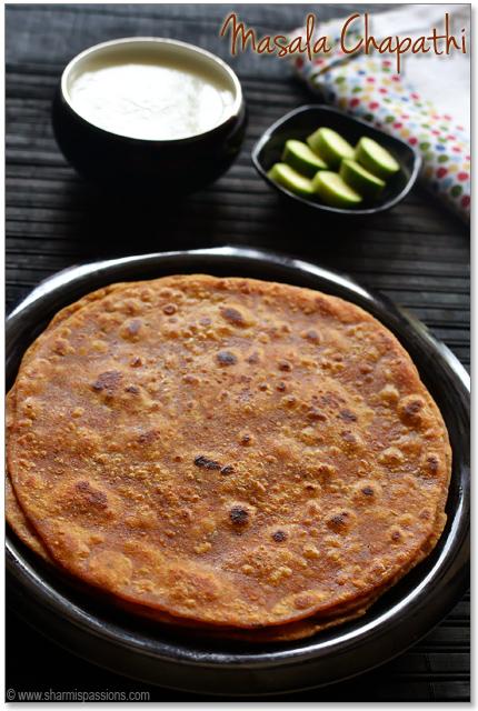 Masala Chapathi  Recipe
