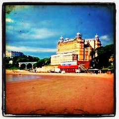 Scarborough - UK #travel #mbakhan #tourist #uk #britain #uk #beach #hotel #architecture #sony #a300 #lovely #sky #sand #summer