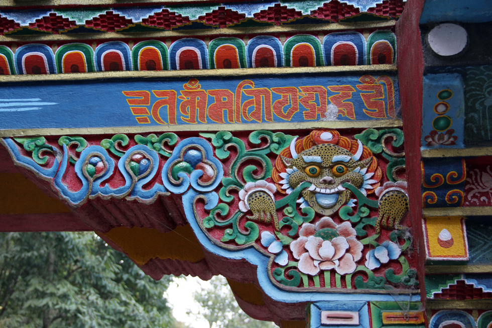Buddhist Monastery in Darjeeling, India