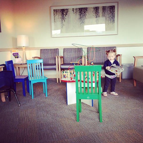 A Place #fmsphotoaday At the doctor's with the whiny sick child.