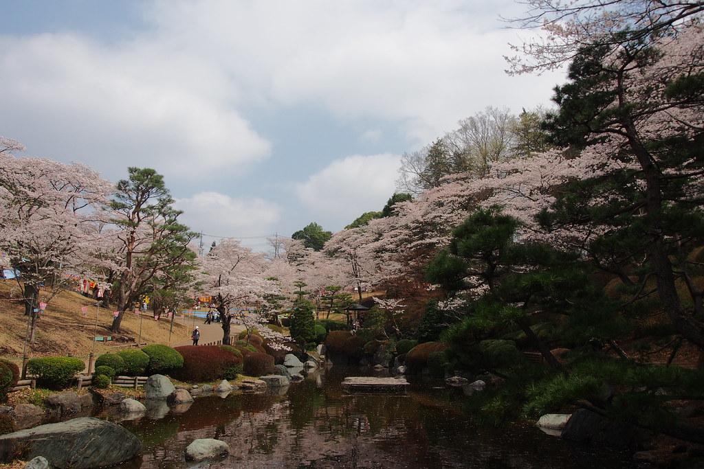 宇都宮 八幡山公園
