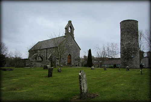 Inniskeen Round Tower and Former Parish Church