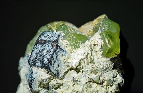 peridot&magnetite