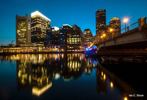 city longexposure nightphotography sunset boston night nikon cityscape massachusetts ida shum d300 prayforboston idashum idacshum