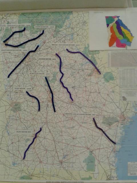 Rivers so far: Paddle Georgia