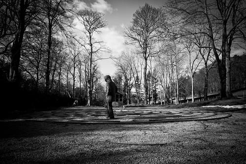 labyrinth walker