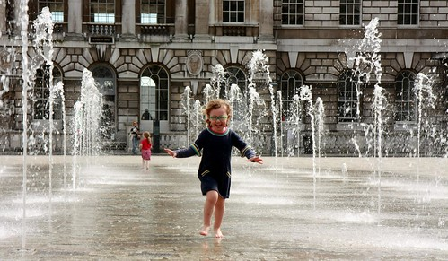 Somerset House Fountain 2