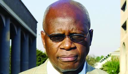Republic of Zimbabwe Minister of Justice and Legal Affairs Patrick Chinamasa. Zimbabwe has recently declined funding for the upcoming elections from the United Nations. by Pan-African News Wire File Photos