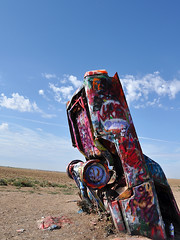 Cadillac Ranch - Rear Up