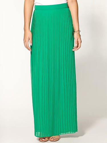 Sabine Pleated Skirt