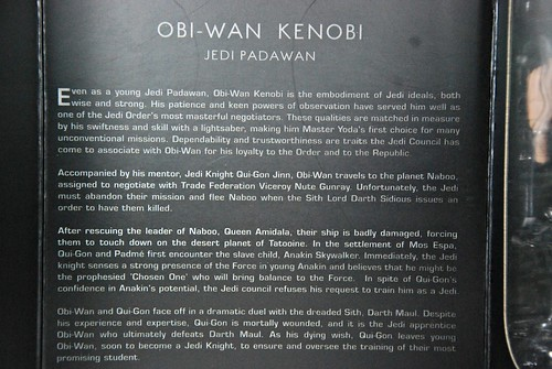 "Sideshow 12"" Padawan Obi Wan Kenobi (Order of the Jedi)"