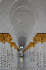 Aspects of the Sheikh Zayed Mosque in Abu Dhabi